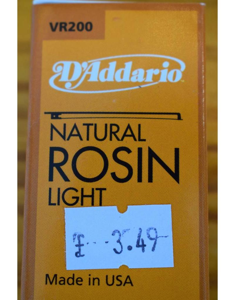 DAddario Natural Rosin, Light