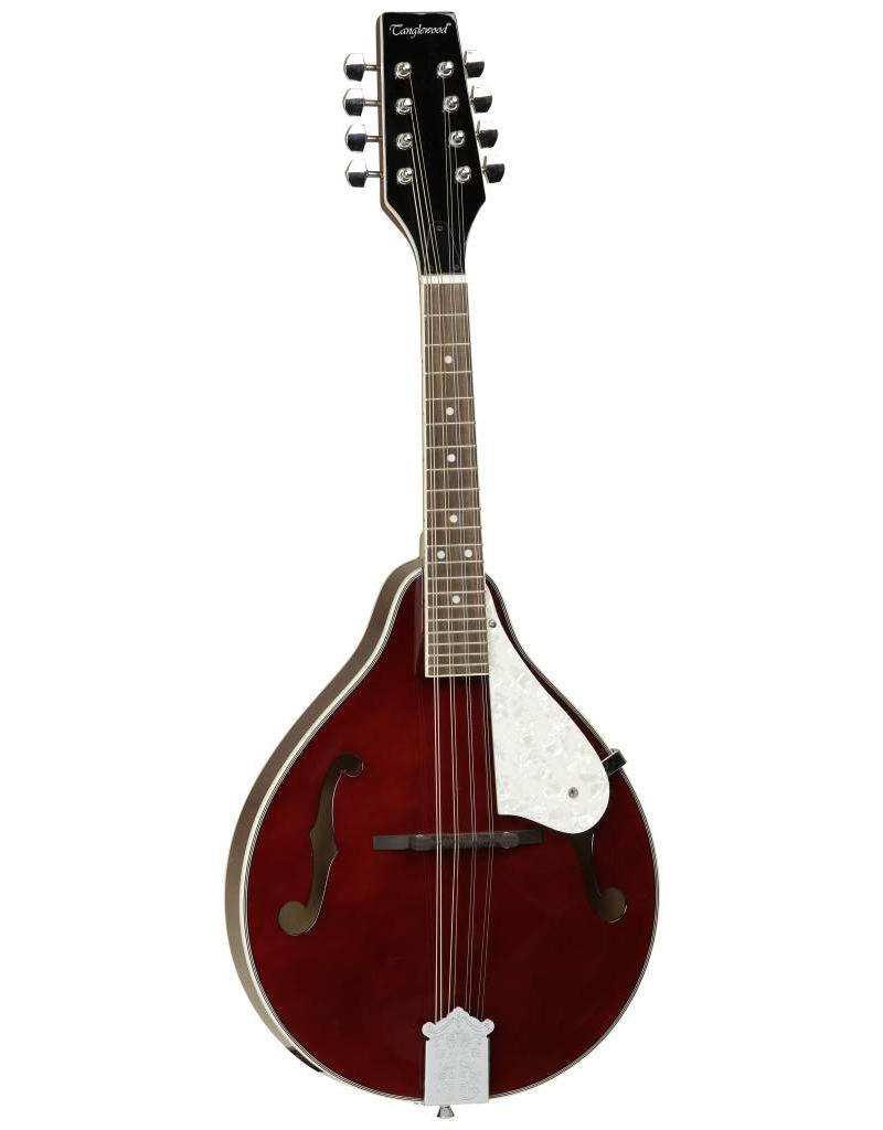 Tanglewood Mandolin, F Hole, Wine Red