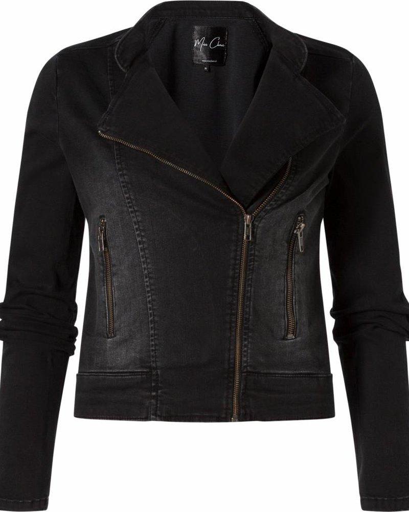 Jeans jacket Gaby black