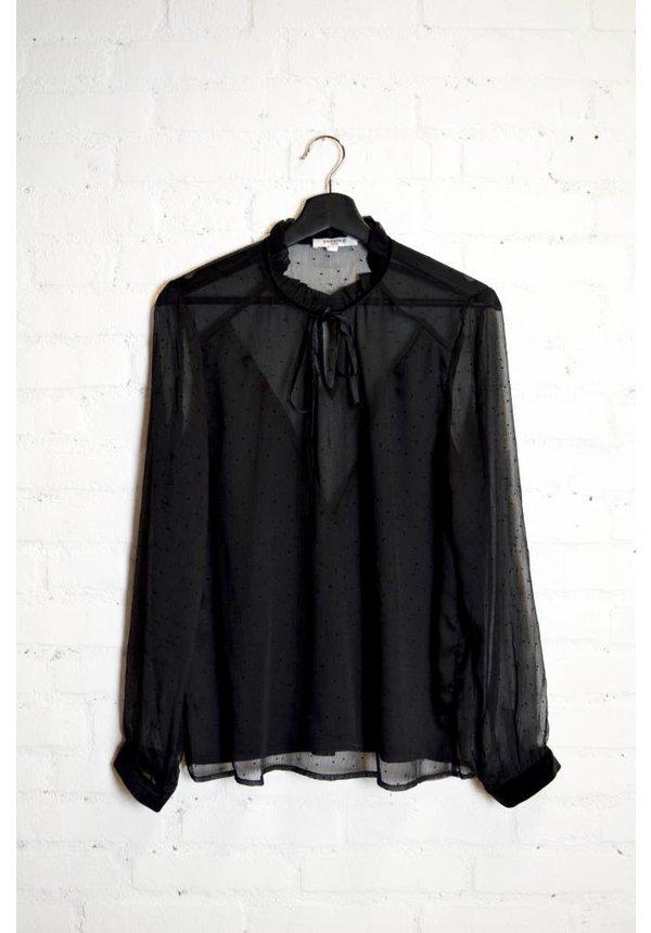 Zwarte Blouse - Beatrice