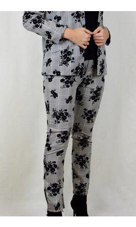 Pantalon - Fleur