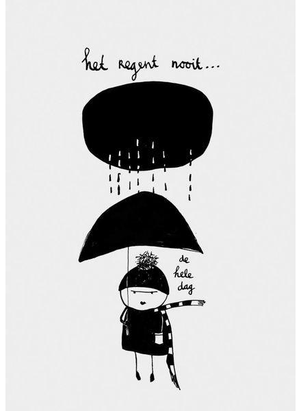 Pomme de Jus Riso print regen