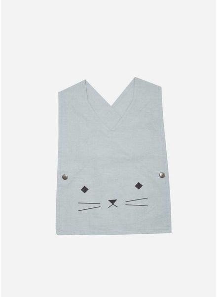 Fabelab Baby smock cat