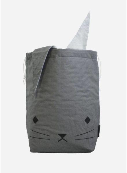 Fabelab Canvas storage bag cuddly cat