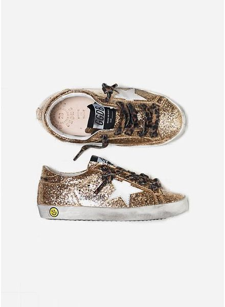 Golden Goose Sneaker superstar glitter leopard