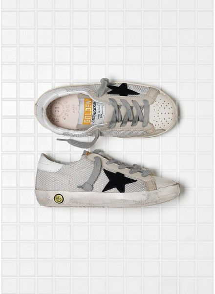 Golden Goose Sneaker superstar grey cord gum