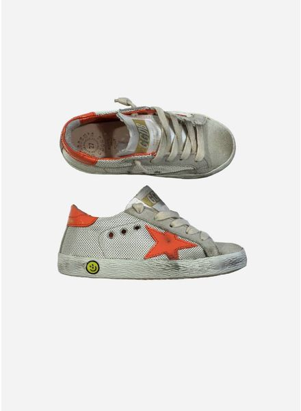 Golden Goose Sneaker superstar sand net/peach star