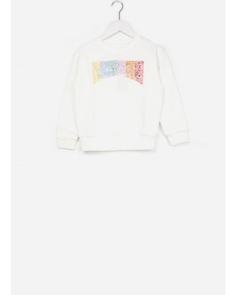 Bellerose Banzi81 sweatshirt off white 018
