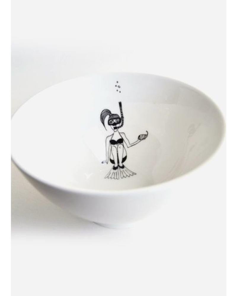 Helen B. Bowl snorkling girl