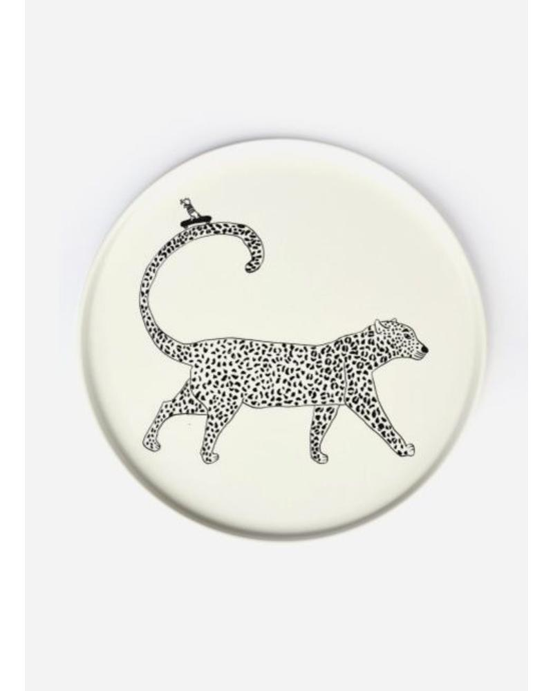 Helen B. Plate leopard