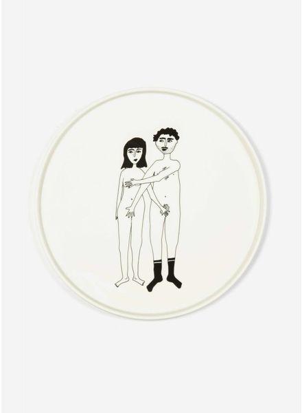 Helen B. Plate naked couple