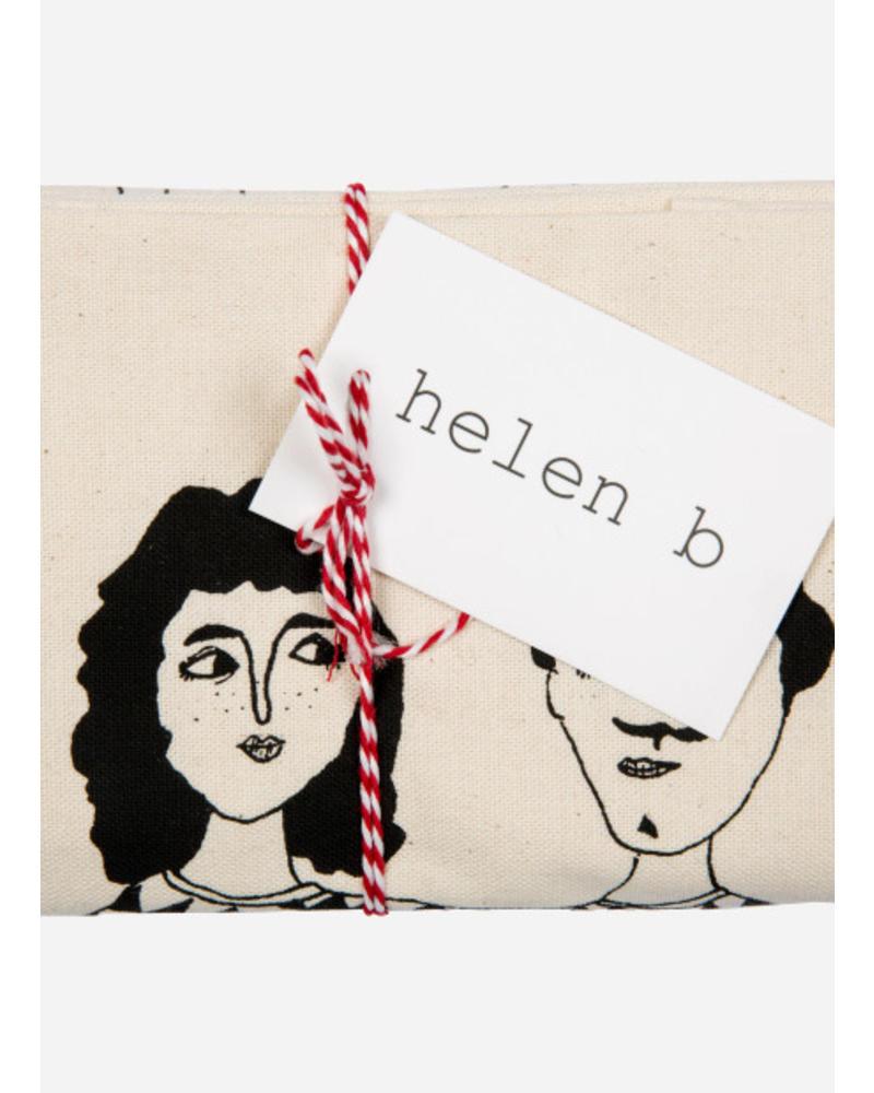Helen B. Tea towel happy together