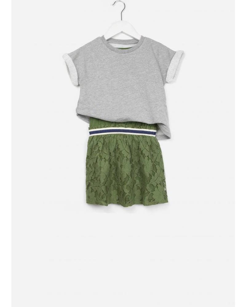 Bellerose Fanila t-shirt army 039