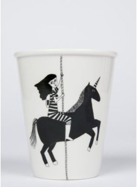 Helen B. Cup black unicorn