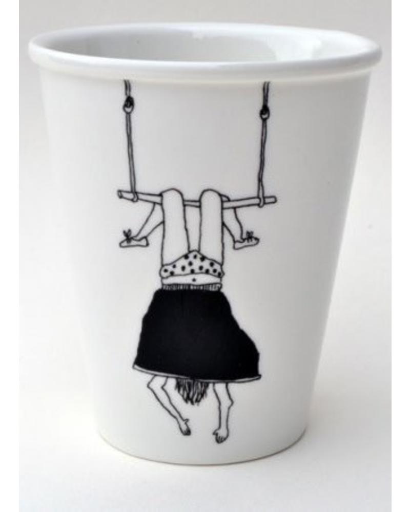 Helen B. cup trapeze girl