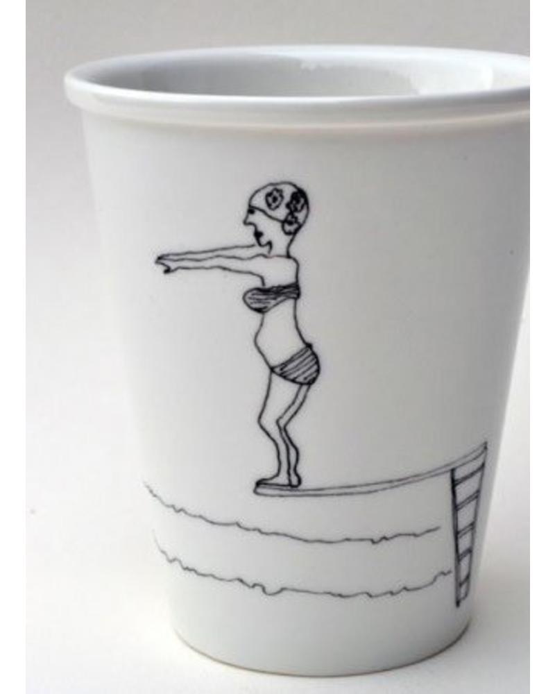 Helen B. cup springboard girl