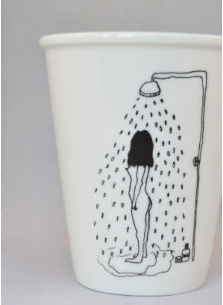 Helen B. Cup shower girl