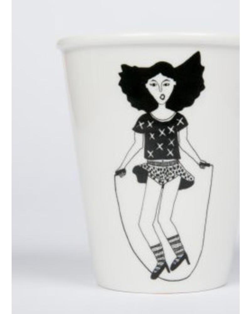 Helen B. cup ropeskipping girl