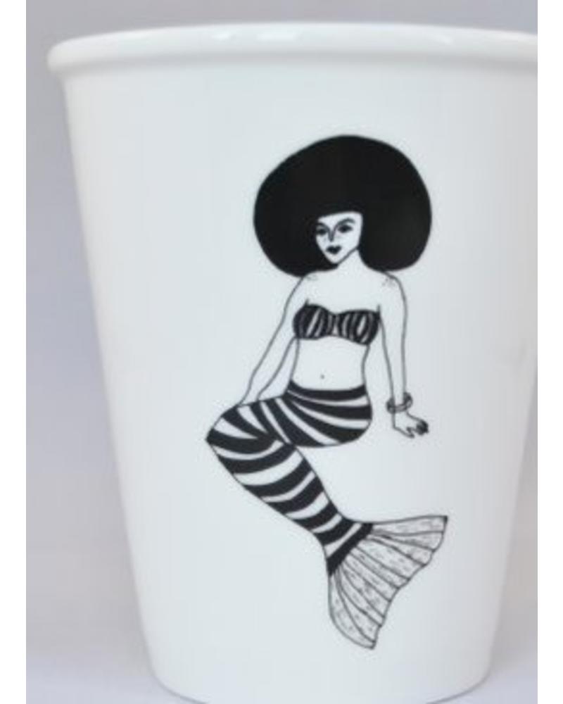 Helen B. Cup mermaid