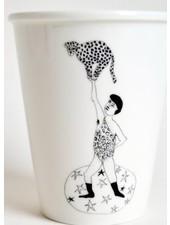 Helen B. Cup leopard man