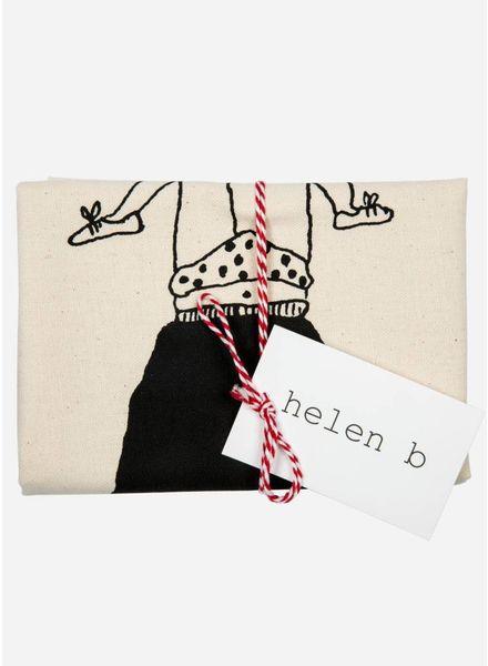 Helen B. Tea towel trapeze girl