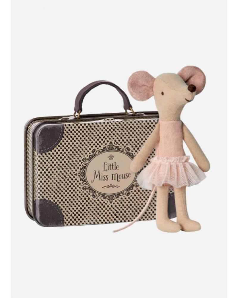 Maileg Mouse, Big Sister Balerina in suitcase