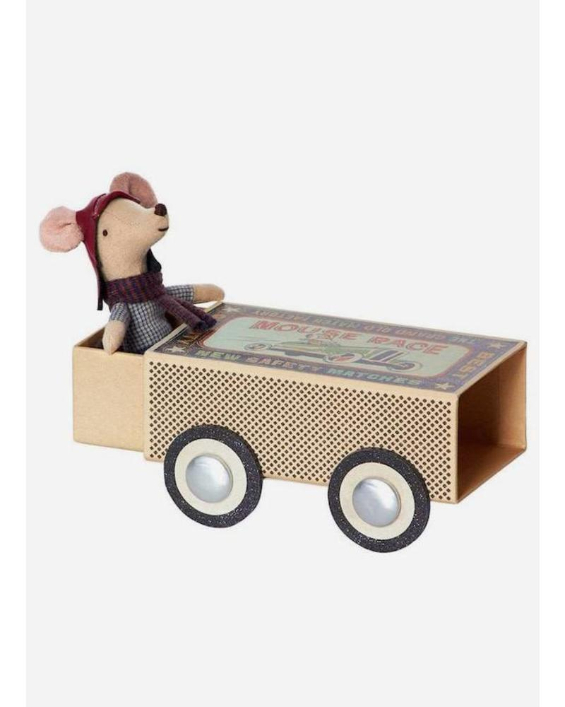 Maileg Mouse, Racer Big brother in a box