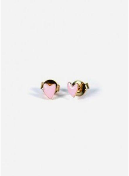 Titlee Earrings hart rose