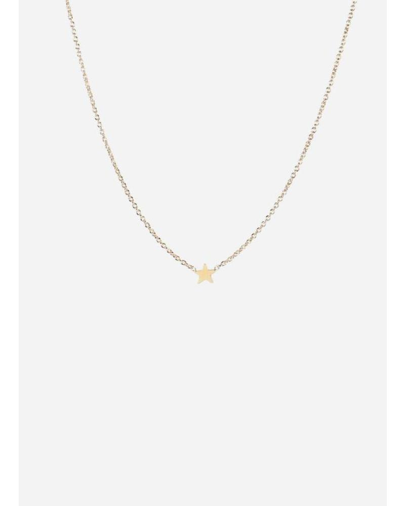 Titlee Necklace Star Gold