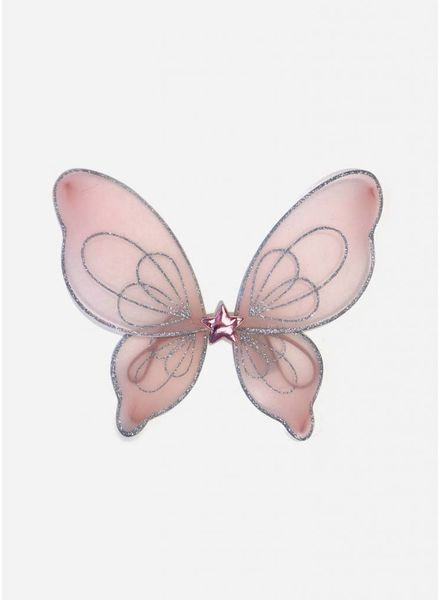 Mimi and Lula princess fairy wings pink