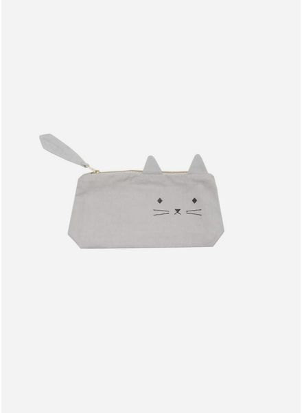 Fabelab animal pencil case cat