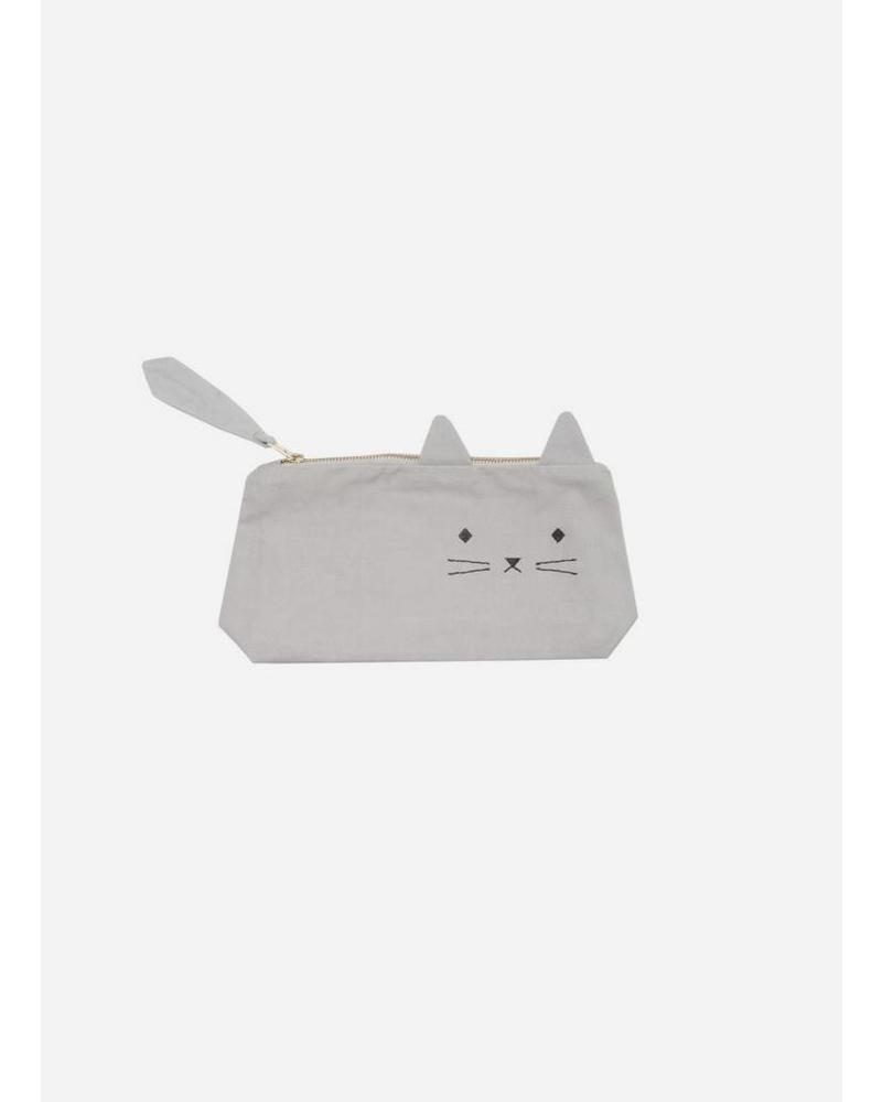 Fabelab animal pencil case cat