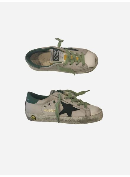 Golden Goose Sneaker superstar ice leather black star