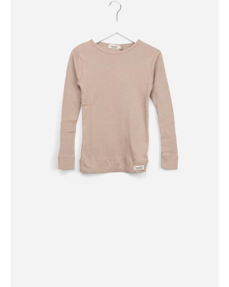 MarMar Copenhagen Plain tee ls burnt rose