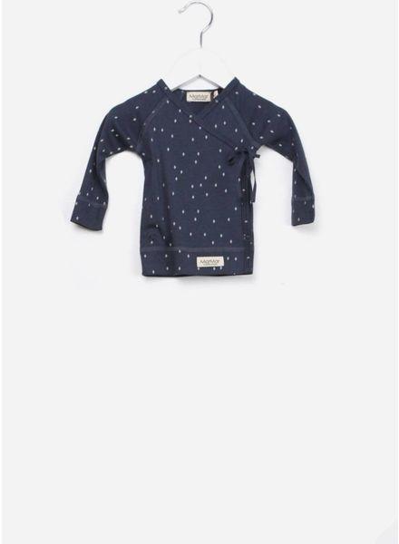 MarMar Copenhagen Tut DESSIN wrap LS shirt blue