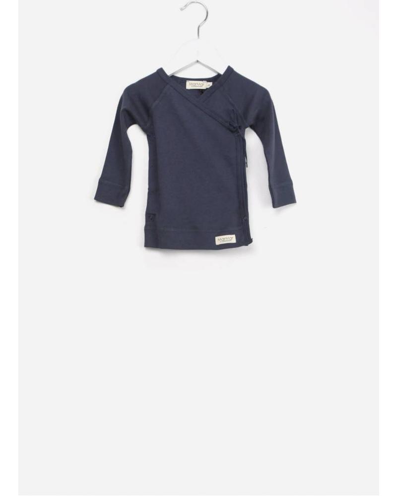 MarMar Copenhagen Tut wrap LS shirt Blue