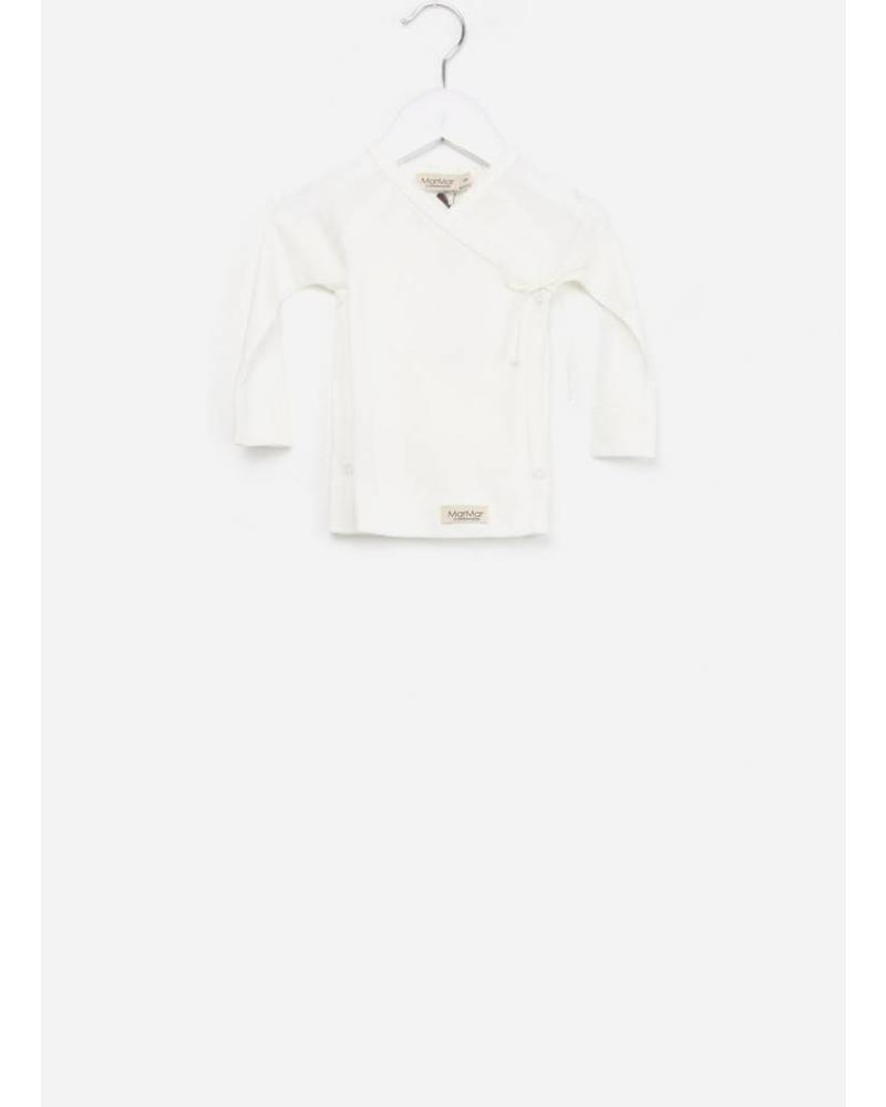 MarMar Copenhagen Tut wrap LS shirt gentle white