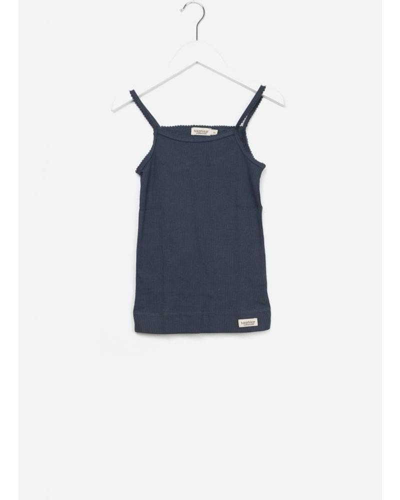 MarMar Copenhagen underwear strap vest 2-pack blue