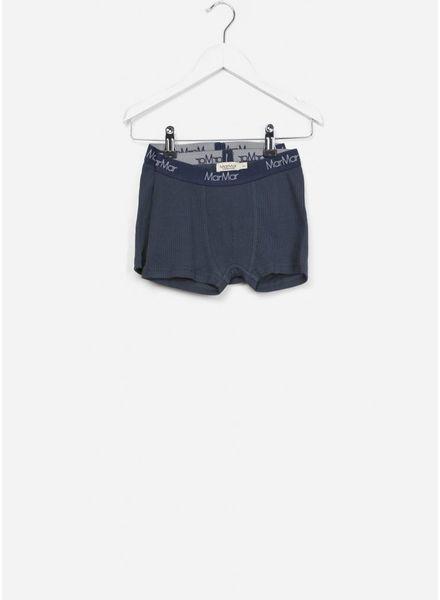 MarMar Copenhagen underwear boxers 2-pack blue