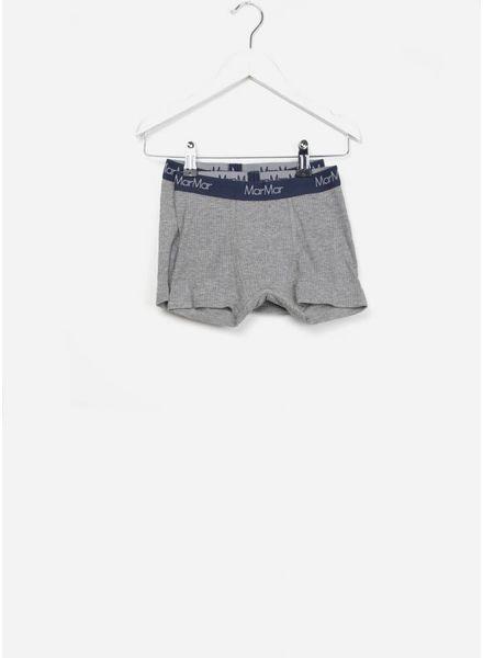 MarMar Copenhagen underwear boxers 2-pack grey melange