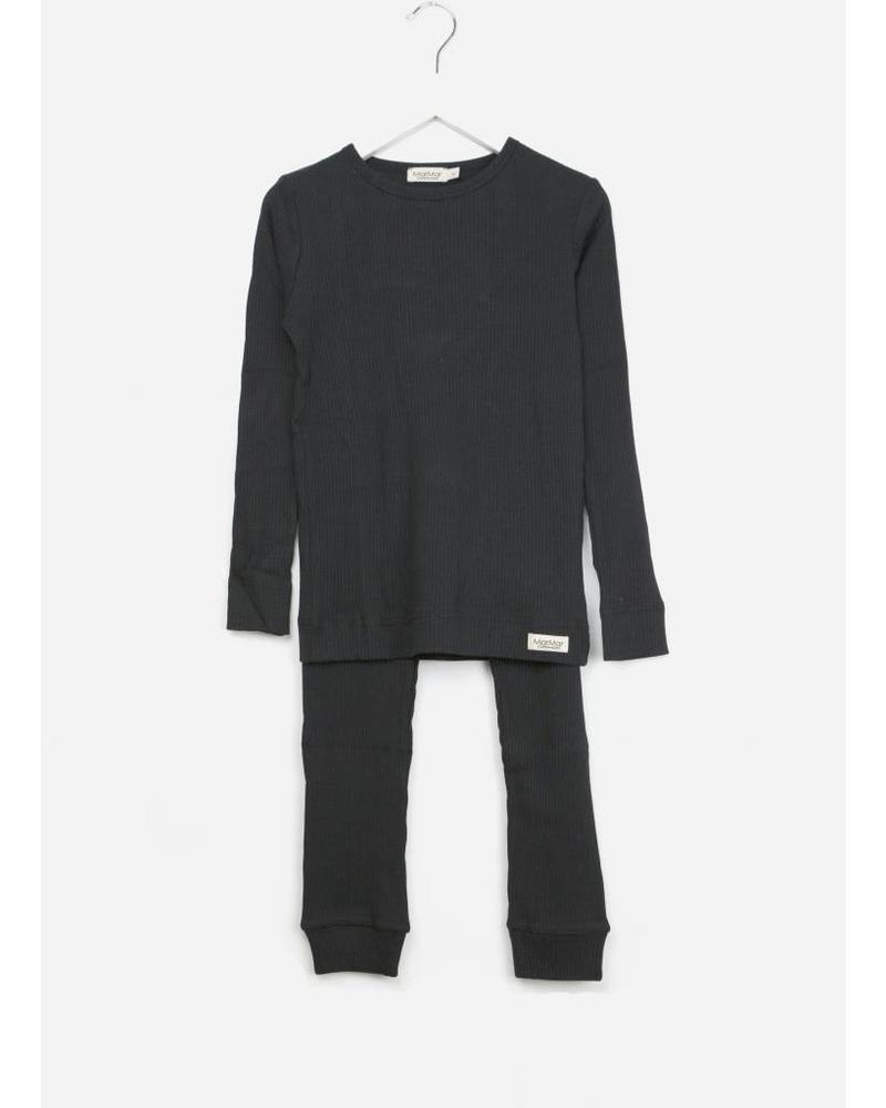 MarMar Copenhagen sleepwear set black