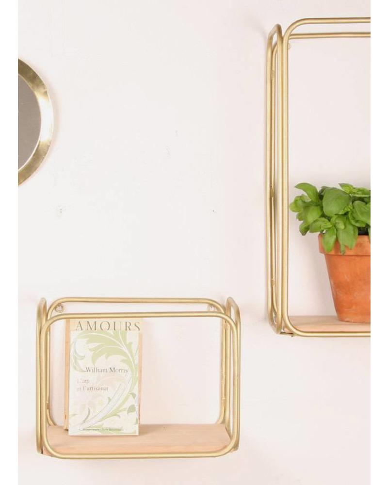 Honoré Etagere goud 30x24x19
