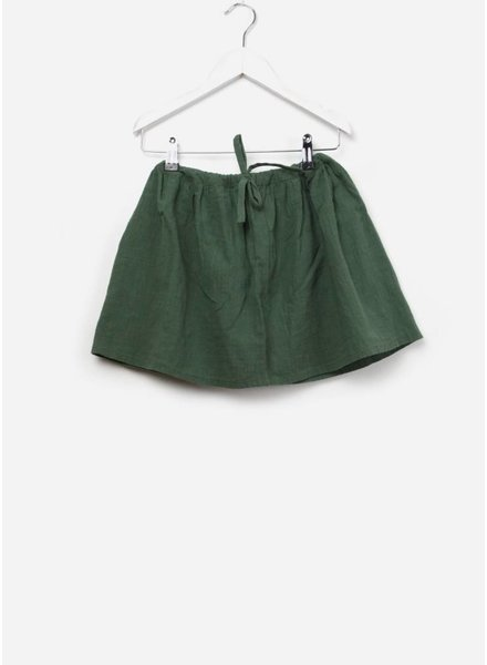 Long Live The Queen Crinkle skirt jade green