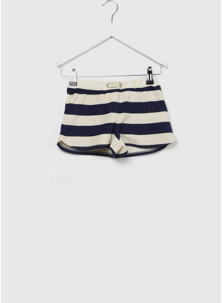 Long Live The Queen Sporty shorts blue stripe