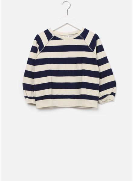 Long Live The Queen Terry sweater blue stripe