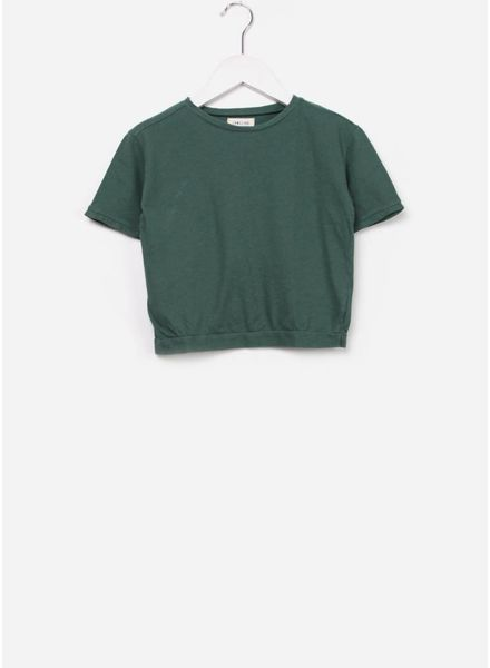 Long Live The Queen Short sleeve tee jade green