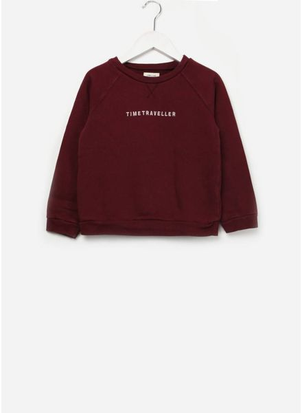 Long Live The Queen Sweater burgundy