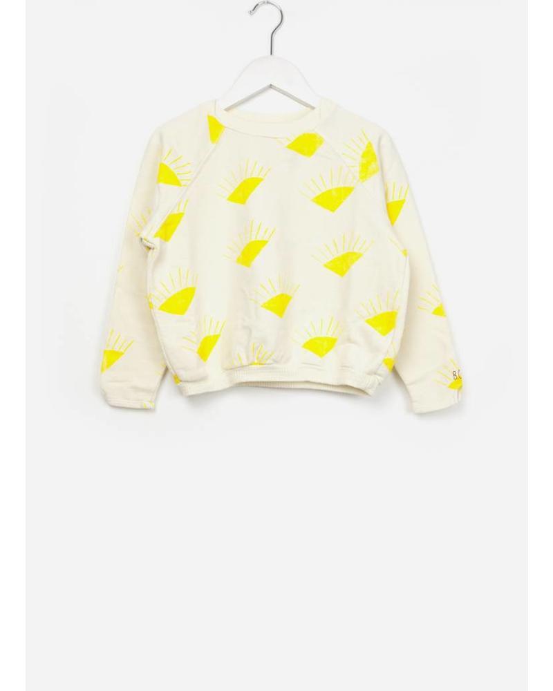 Bobo Choses Sun Raglan sweatshirt