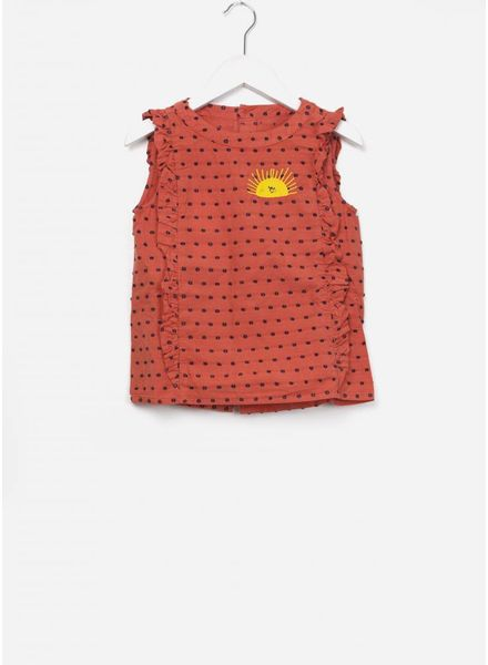 Bobo Choses Sun ruffles shirt