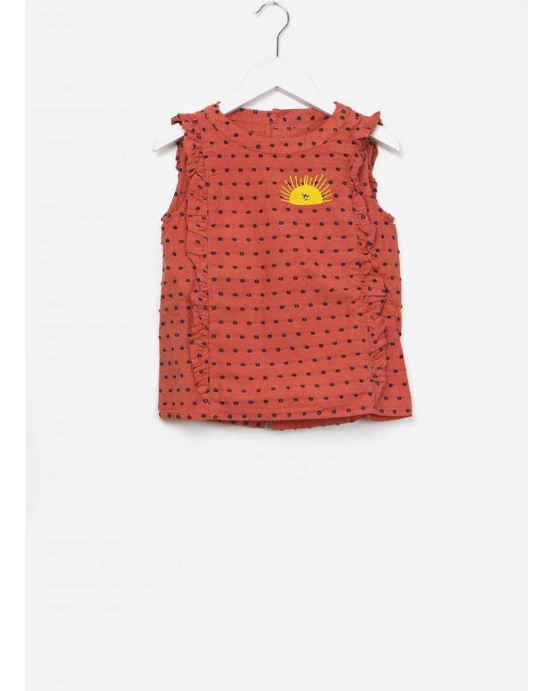 Bobo Choses Sun ruffles shirt
